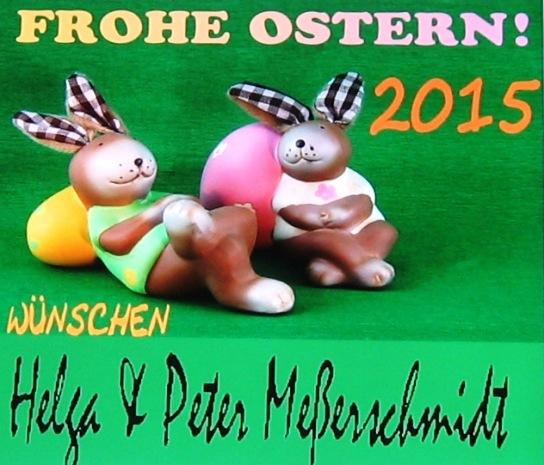 FROHE OSTERN! 2015 Wuenschen