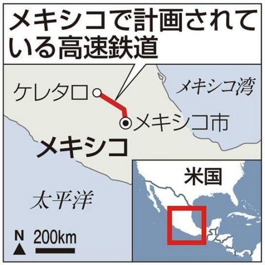 メキシコ高速鉄道計画